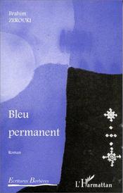 Bleu permanent - Couverture - Format classique