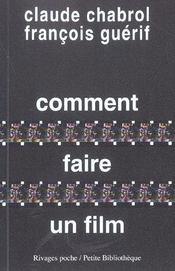 Comment faire un film - Intérieur - Format classique