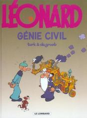 Léonard t.9 ; génie civil - Intérieur - Format classique