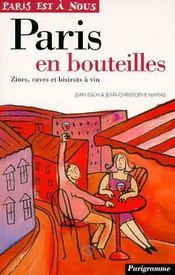 Paris en bouteilles - Intérieur - Format classique
