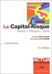 Le capital-risque (2e édition) - Couverture - Format classique
