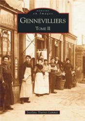 Gennevilliers t.2 - Couverture - Format classique
