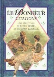 Le Bonheur Citations - Couverture - Format classique