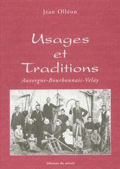 Usages et traditions - Intérieur - Format classique