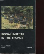 Social Insects In The Tropics - Couverture - Format classique
