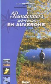 Randonnees Au Bord Des Lacs En Auvergne - Intérieur - Format classique