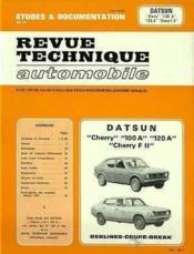 Rta 349.2 datsun cherry 100-120 a et fii (1972/1979) - Couverture - Format classique