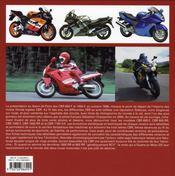 Honda cbr, les sportives emblématiques - 4ème de couverture - Format classique