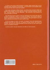 Grand Livre Des Recettes De Cuisine (Le) - 4ème de couverture - Format classique