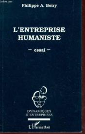 Entreprise Humaniste Essai - Couverture - Format classique
