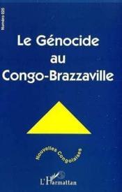 Le génocide au Congo-Brazzaville - Couverture - Format classique