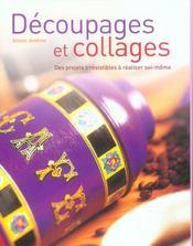 Decoupages Et Collages - Intérieur - Format classique