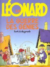 Léonard t.10 ; la guerre des génies - Intérieur - Format classique