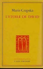 Etoile De David (L') - Couverture - Format classique
