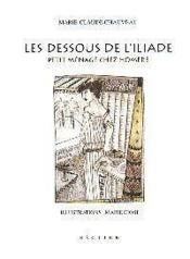 Les Dessous De Liliade Petit Menage Chez Homere - Couverture - Format classique