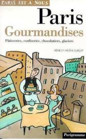 Paris gourmandises - Couverture - Format classique