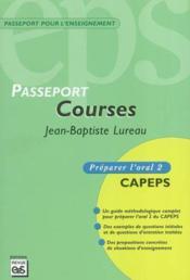 Passeport courses - Couverture - Format classique