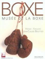 Boxe ; musee de la boxe - Intérieur - Format classique