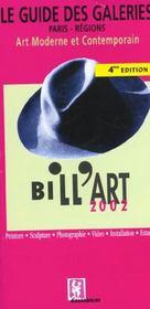 Bill'Art ; Paris Regions ; Edition 2002 - Intérieur - Format classique