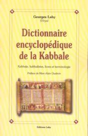 Dictionnaire Encyclopedique De La Kabbale - Couverture - Format classique
