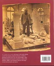 Auguste Rodin ; sculptures et dessins - 4ème de couverture - Format classique
