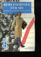 Berufserfolg Fur Sie - Couverture - Format classique
