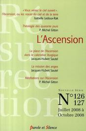 Vente livre :  Revue Resurrection N.126-7 ; L'Ascension  - Mv Resurrection