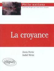 La Croyance - Intérieur - Format classique