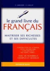 Le Grand Livre Du Francais - Couverture - Format classique