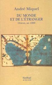 Du monde et de l'etranger ; orient an mille - Intérieur - Format classique