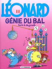 Léonard t.11 ; génie du bal - Intérieur - Format classique