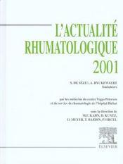 L'Actualite Rhumatologique 2001 - Intérieur - Format classique