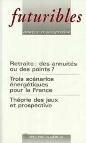 Futuribles N.241 - Couverture - Format classique