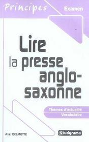 Lire la presse anglo-saxonne - Intérieur - Format classique