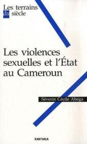 Les violences sexuelles et l'état au Cameroun - Couverture - Format classique
