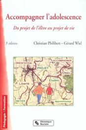 Accompagner L'Adolescence 3e Ed. - Intérieur - Format classique