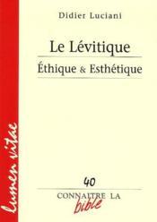 Le Levtique - Couverture - Format classique