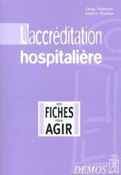 Accreditation Hospitaliere - Intérieur - Format classique