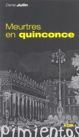 Meurtres En Quinconce - Intérieur - Format classique
