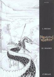 Propheties Elween T3 - Shadrin Noir & Blanc - Intérieur - Format classique