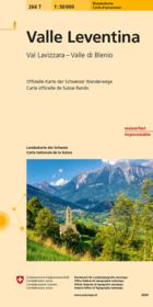 Valle Leventina ; 266 T - Couverture - Format classique