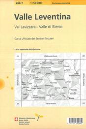 Valle Leventina ; 266 T - 4ème de couverture - Format classique