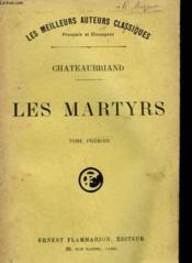 Les Martyrs. Tome 1. - Couverture - Format classique