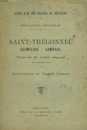 Livre D'Or Des Eglises De Bretagne. Saint-Thegonnec, Guimiliau, Lampaul. Publication Mensuelle Juillet 1897. - Couverture - Format classique