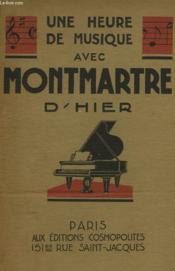 Montmartre D'Hier - Couverture - Format classique