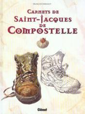 Carnets de Saint-Jacques de Compostelle - Couverture - Format classique