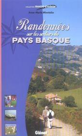 Randonnees Sur Les Sentiers Du Pays Basque - Intérieur - Format classique