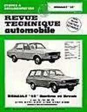 Rta 352.5 renault 12-12 tr-12 ts et break (71/80) - Couverture - Format classique