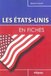 Les Etats-Unis En Fiches - Intérieur - Format classique