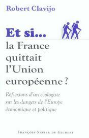 Et Si La France Quittait L'Union Europeenne - Intérieur - Format classique